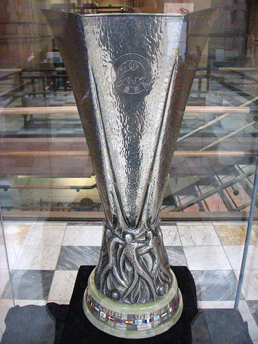 The UEFA Cup / Europa League trophy