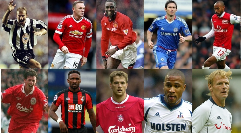 Top 100 Premier League Goalscorers