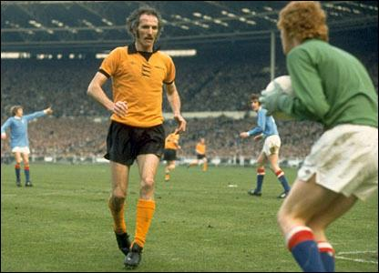 Derek Doogan of Wolves against Manchester City