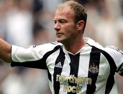 Alan Shearer - Record Premier League Goalscorer with 260