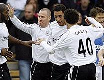 Derby County - bottom of the Premier League in 2007-08