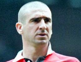 Eric Cantona of France and Manchester United