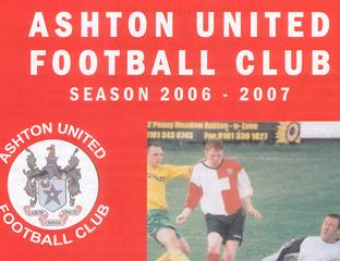 Ashton United from the Northern Premier League