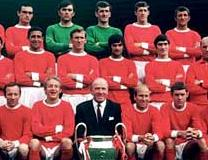 Manchester United 1968 European Champions